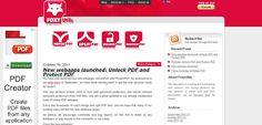 Juntar, Dividir, Documentos PDF Facilmente Grátis Foxy Utils