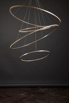 LED metal pendant lamp with dimmer LOHJA by Cameron Design House design Ian Cameron