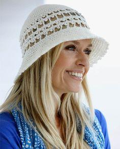 Beskyt dit hår med en hæklet hat.