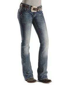 Miss Me Jeans #Miss_Me_Jeans #fashion #blue_jeans #love Miss Me Jeans - Fleur-de-Lis Fashion Boot Cut Jeans