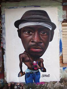 sipros. Ce genre de graff embellirait certaines rues de Paris...
