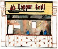 Copper Grill Eldon St - by Eleanor Crow