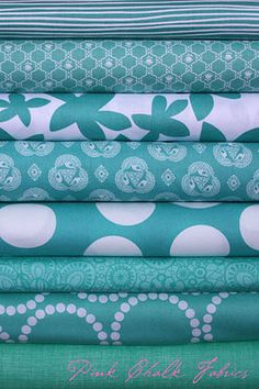Pink Chalk Fabrics- Great online site for material that you can't find at places like Joanna's