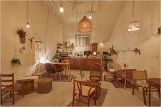 Cafe Shop Design, Coffee Shop Interior Design, Bakery Interior, Kitchen Interior, Coffee House Interiors, Ceramic Cafe, Korean Cafe, Coffee Shop Aesthetic, Bakery Decor