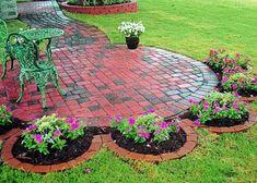 Decoracion de jardines con ladrillos. Para decorar un jardín se puede hacer uso de diferentes materiales, como madera, piedra, concreto, ladrillos, etc. Pero en este artículo te mostrare de for