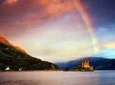national geographic rainbows - Google Search   rainbow over a scottish castle