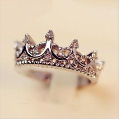 Crown Ring Palace Restoring Ancient Ways The Queen's Temperament Woodwork Anillos Tail Silver Rings For Women B4 R211-in Rings from Jewelry on Aliexpress.com | Alibaba Group