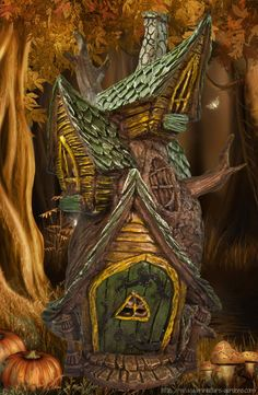 Google Image Result for http://www.miniature-gardens.com/images/tree-door-fairy-house.jpg