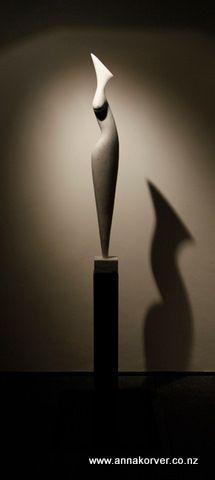 Marble figure - Anna Korver
