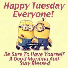 Happy Tuesday 😁