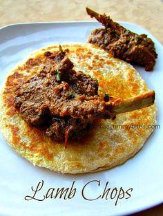 Lamb Chops / Mutton Chops, pressure cooked - Gluten Free