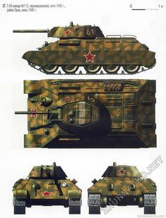 Military Weapons, Military Art, T 34, Engin, History Projects, World Of Tanks, Ww2 Tanks, Military Equipment, Paint Schemes