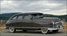1950 Nash Ambassador. One of the first American cars to be made with unibody construction, it is driven by a 234 c.i. six delivering 115 hp through a 4-speed Hydramatic transmission....