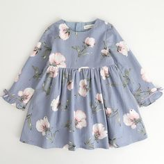 Fashion Leisure Kids Baby Girl Dress Long Sleeve Floral Bowknot Party Princess Dresses for Toddler Girls Autumn Clothes . Product ID: Baby Girl Dresses, Baby Outfits, Cute Dresses, Kids Outfits, Princess Dresses, Cotton Dresses, Party Dresses, Kid Dresses, Reception Dresses