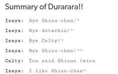 Durarara funny