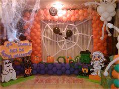 Image result for globos cumpleaños infantiles halloween