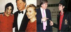 Michael Jackson, Hillary Clinton et Donald Trump: quand le King of Pop côtoyait les candidats à la