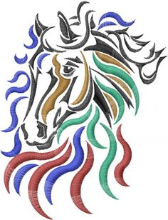 Horse Embroidery Designs   club membership start piling up the free stuff now become an ann s ...