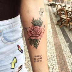 24 Roses Tattoos Ideas Worth Checking Out Great Tattoos, Mini Tattoos, Rose Tattoos, Beautiful Tattoos, Flower Tattoos, Body Art Tattoos, New Tattoos, Small Tattoos, Sleeve Tattoos
