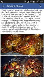 This is going to my new method of cooking crab legs. Use Fresh Lemon juice, Parsley, Butter & Fresh Garlic mixed together with some Old Bay Seasoning. Seafood Boil Recipes, Seafood Bake, Crab Recipes, Seafood Dinner, Cajun Seafood Boil, Seafood Broil, Crab Leg Recipes Boiled, Crab Bake, Seafood Dip
