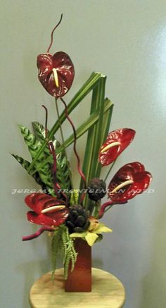 Anthurium and Artichokes