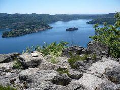 Orta Lake, near Gozzano, Italy.