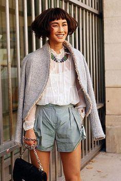 Street Style: Short Shorts