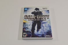 Call of Duty - Nintendo WII - Empty Case - No Game