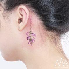40 Colored Delicate Tattoos by Tattooist Nanci - TattooAdore