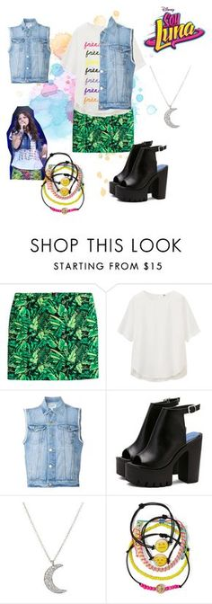 """""""soy luna"""" by maria-look on Polyvore featuring Uniqlo, Frame Denim, Finn and Carole"""