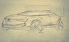 Volkswagen sketch Fe Martins