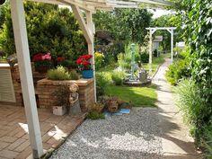 u morkusovic: červen 2014 Shabby, Patio, Outdoor Decor, Plants, Home Decor, Flowers, Decoration Home, Terrace, Room Decor