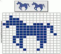 free-beading-pattern-barrette-2-horses-full