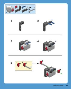 Step-by-step building instructions for a simple and sturdy LEGO MINDSTORMS vehicle robot that you can build and extend for your own projects. Lego Robot, Lego Batman, Lego Duplo, Cool Minecraft Houses, Minecraft Buildings, Minecraft Skins, Lego Super Mario, Super Mario Bros, Hama Beads Minecraft