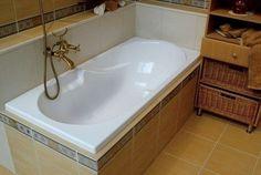 Простой способ сделать ванну белоснежной.