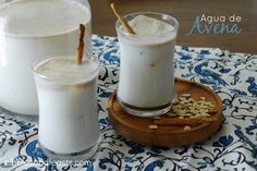 Recipe for Agua de Avena agua fresca. A refreshing drink for spicy foods and warm days.