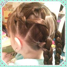 """Who's ready for the new year!!! 2015 is going to be amazing! #braid#braids#toddlerhair#toddlerhairstyle#toddlerhairstyles#toddlerbraid#poethouse"""