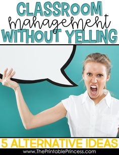 "According to studies, ""Yelling produces results similar to physical punishment in children: increased levels of anxiety, stress and depression along with an increase in behavioral problems."" Read my post about other ways to manage your classroom that are more beneficial to the students!"