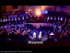 Andrea Bocelli & Zucchero Fornaciari - Miserere (Live) (English lyrics translation)