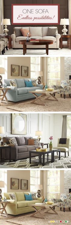 Create A Fresh Inviting Space When You Select The Bellingham Living Room.