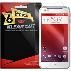 HTC Desire 830 Screen Protector [6-Pack], Klear Cut High Definition Clear Screen Protector for HTC Desire 830 PET Film Anti-Bubble Shield *** Want to know more, click on the image. (This is an affiliate link) #Accessories