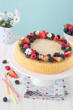 Crostata di frutta con base morbida | Chiarapassion