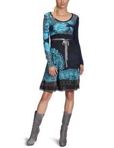 Buy New: £39.69 - £84.00 (UK & Ireland): Apparel: #Desigual Judith #Halterneck Women's #Dress