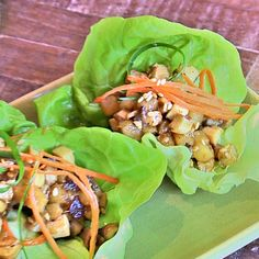 True Food recipe: Shiitake and Tofu Lettuce Cups
