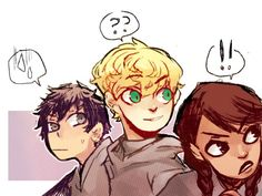 The three mages of Master Rufus! http://joker-ace.tumblr.com/post/106252410909/heres-a-whole-art-dump-of-magisterium-the-iron