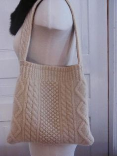 Felted wool purse from a recycled sweater 2019 Felted wool purse from a recycled sweater The post Felted wool purse from a recycled sweater 2019 appeared first on Wool Diy. Ropa Upcycling, Recycled Sweaters, Wool Sweaters, Old Sweater, Brown Sweater, Felt Purse, Fabric Bags, Knitted Bags, Wool Felt