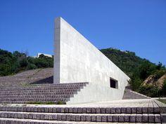 Finn Wilkie — Tadao Ando, Contemporary Art Museum, Naoshima,...