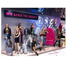 "MISSGUIDED, Bluewater Shopping Centre, Kent, UK, ""We Like To Party - Selfie Set"", photo by Mia Thompson Moore, pinned by Ton van der Veer"