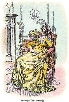 Lady Catherine de Bourgh, A Pride and Prejudice Celebration, Part One