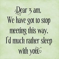 Pregnancy Insomnia...